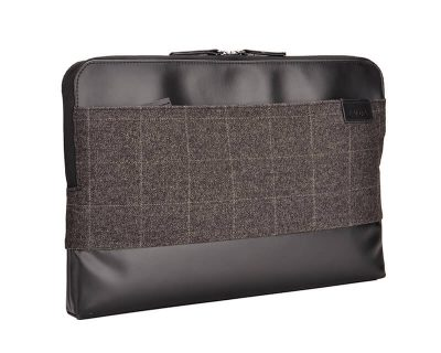 "EVOL Uluru 13.3"" Brown/Black Tweed-Poly/Coated Canvas Laptop Sleeve Tweed-Poly"
