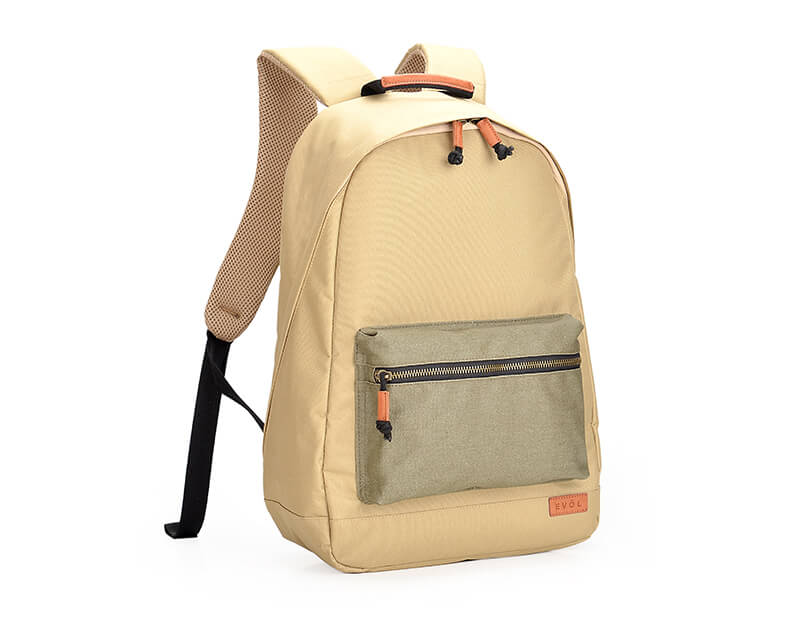 """EVOL 15.6"""" Laptop Backpack Polyester & Coated Canvas"""