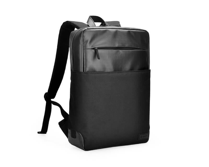"""EVOL 15.6"""" Core Water Resistant Laptop Backpack Coated Polyester"""