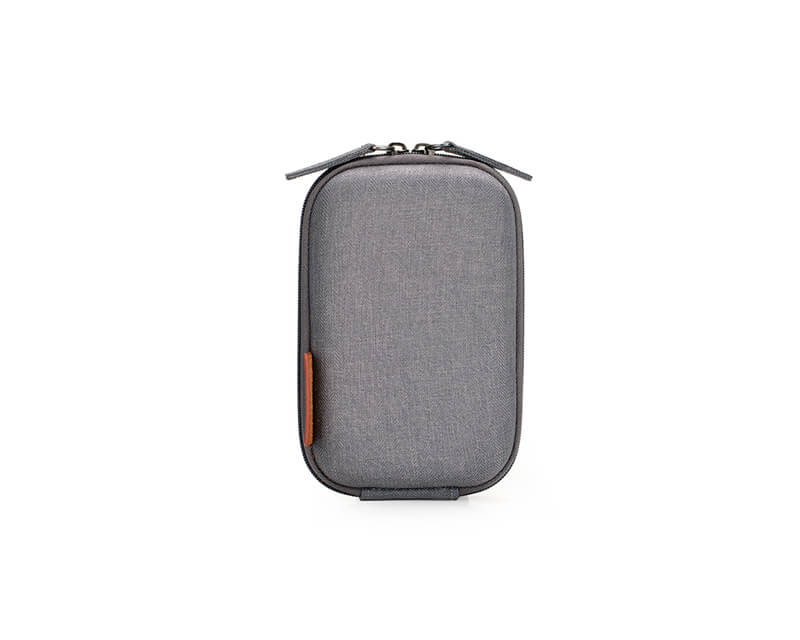 EVOL EVOL Brunswick Small Digital Camera Case Grey Herringbone Herringbone-Poly