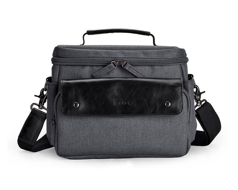 EVOL EVOL Brunswick SLR Compact I Camera Case Granite Herringbone Herringbone-Poly