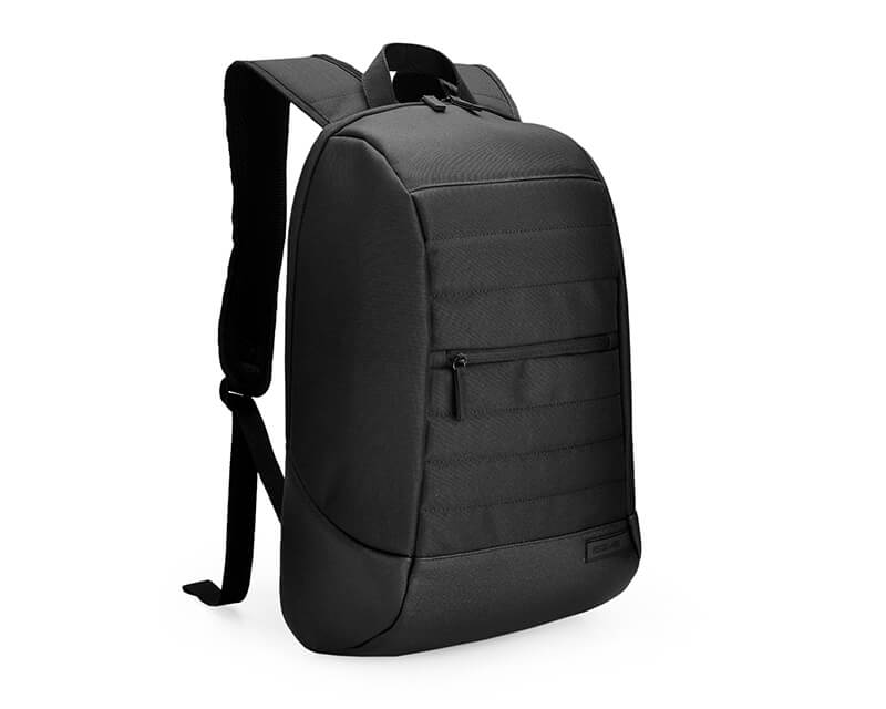 "AGVA-Basics 15.6"" Black Laptop Backpack"