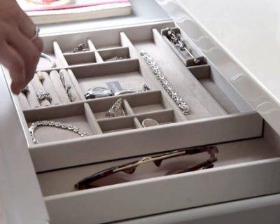 White Large Jewellery Slider