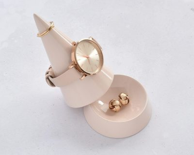 Blush Pink Cone Jewellery Peak