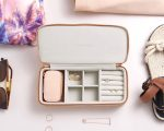 Blush Large Travel Jewellery Box 3