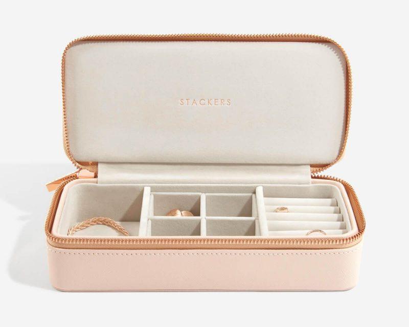 Blush Large Travel Jewellery Box