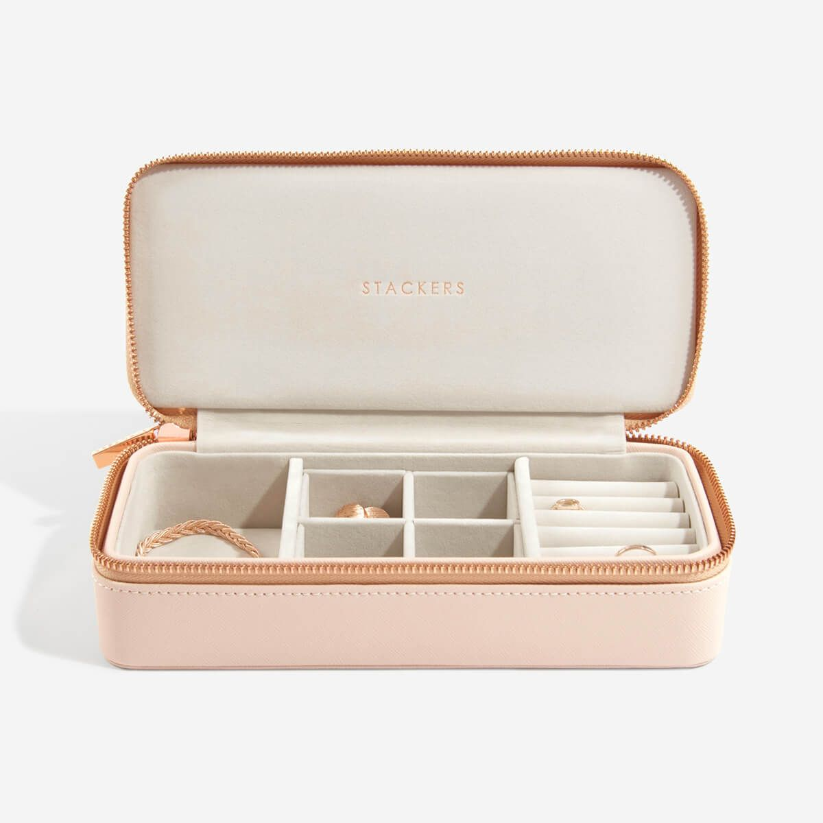 Blush Large Travel Jewellery Box