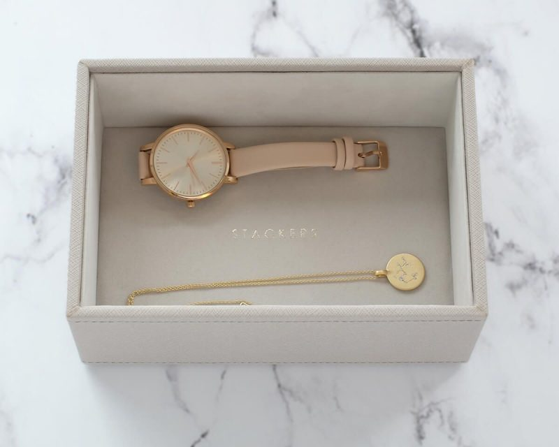 Taupe Mini Watch/Accessories Layer