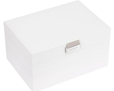 White Classic Jewellery Box